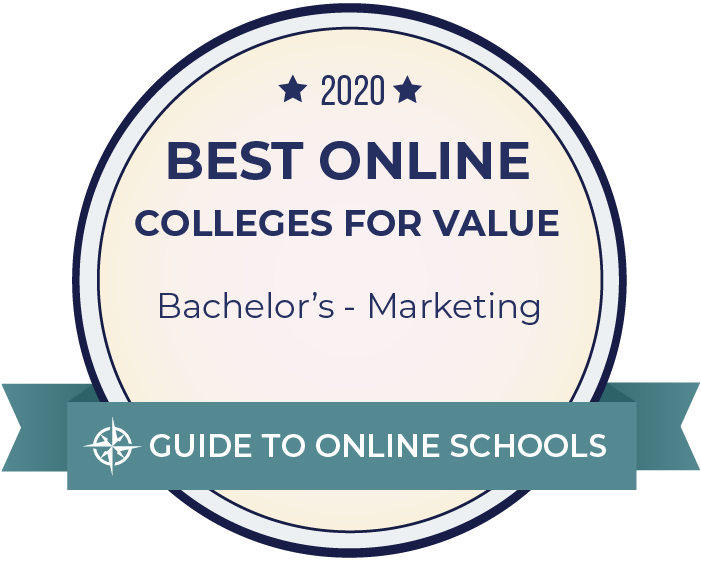 Best Online College for Value - Marketing  2020