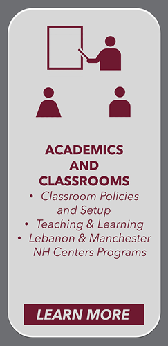 Academics and Classrooms
