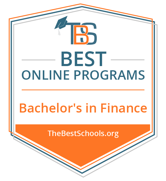 Best Online Bachelor's in Finance, rated by thebestschool.org