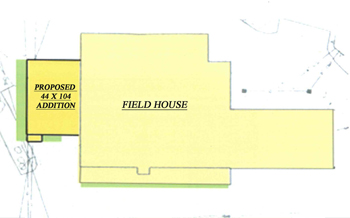 Field House Addition Map